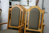 upholstery on kitchen chairs