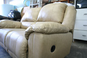 beautiful leather seat sofa